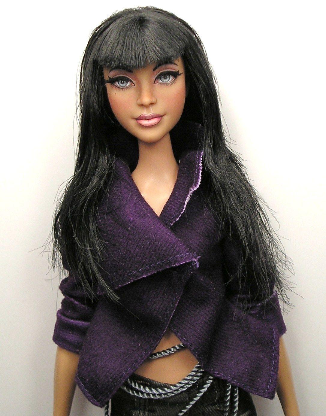 Cassie OOAK Stardoll Barbie Doll Art Custom Repaint by Artist Pamela