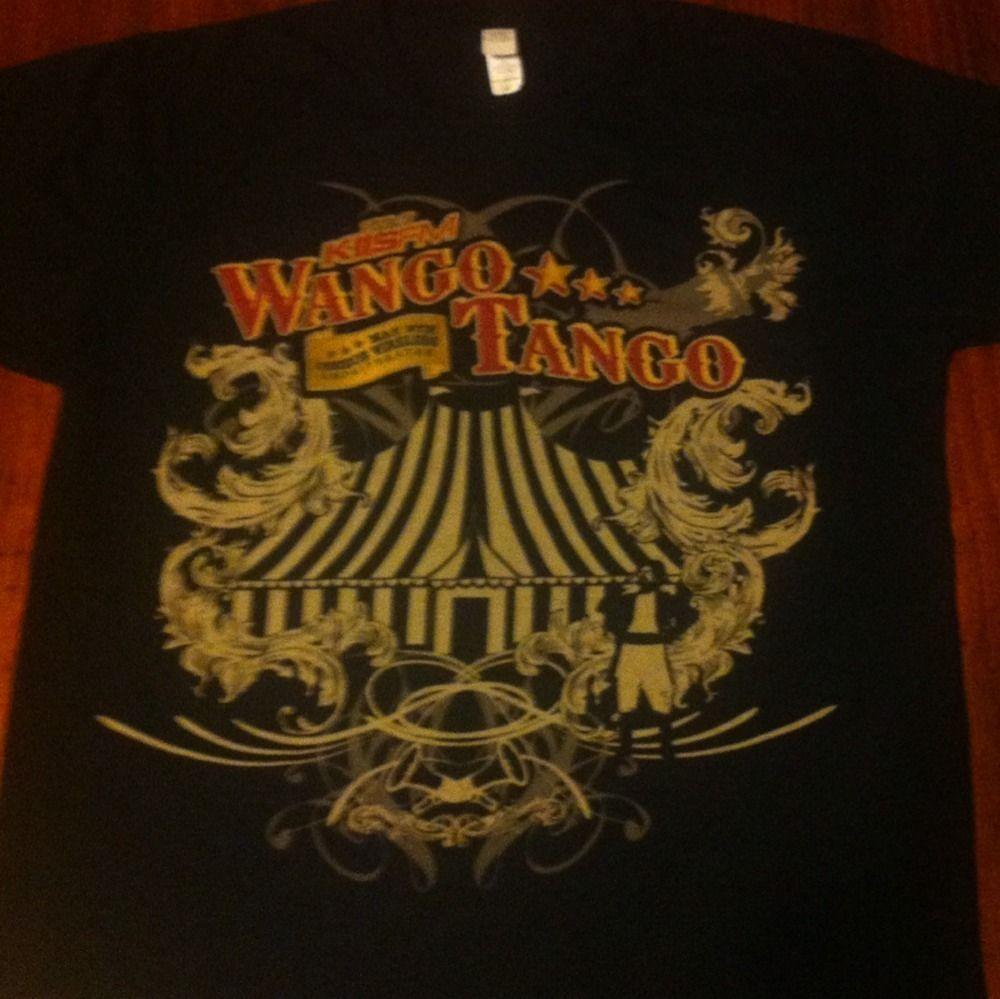 Wango Tango Shirt M Black Eyed Peas Lady Gaga Kelly Clarkson Pitbull