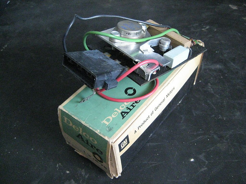 65 66 67 68 Cadillac Climate Control Amplifier Circuit Board Nos Carrier Bryant Hh84aa011 Furnace Ebay