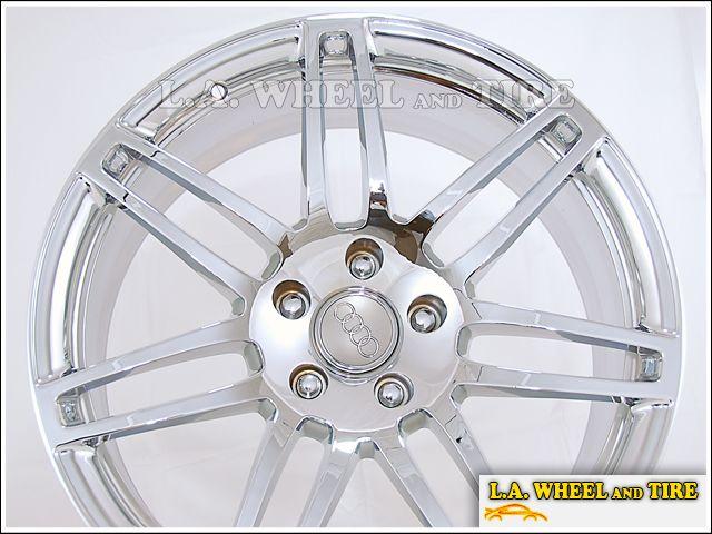 Set of 4 New 21 Audi Q5 Factory OEM Chrome Wheels Rims NH1230