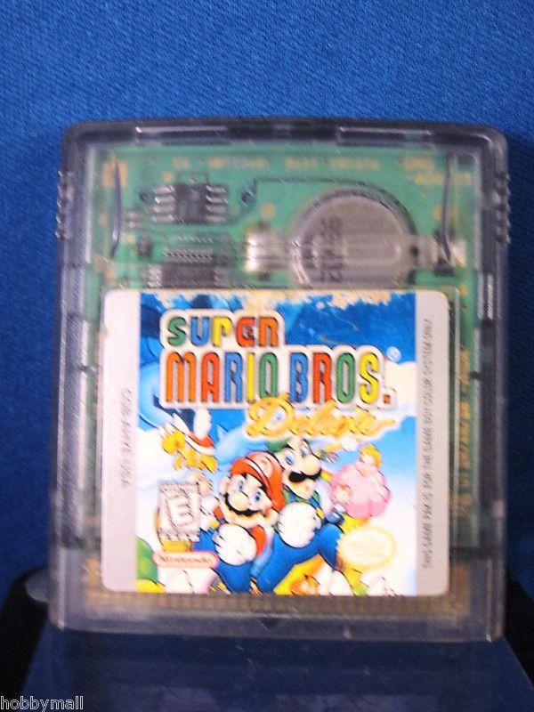 Color GBC Super Mario Bros Deluxe Video Game 045496730925