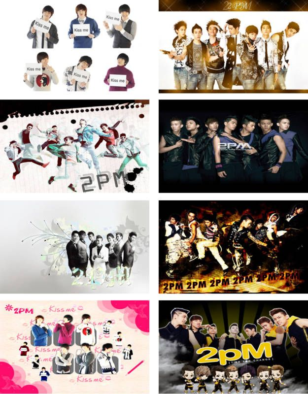 2PM KPOP Laptop Netbook Skin Decal Cover Sticker