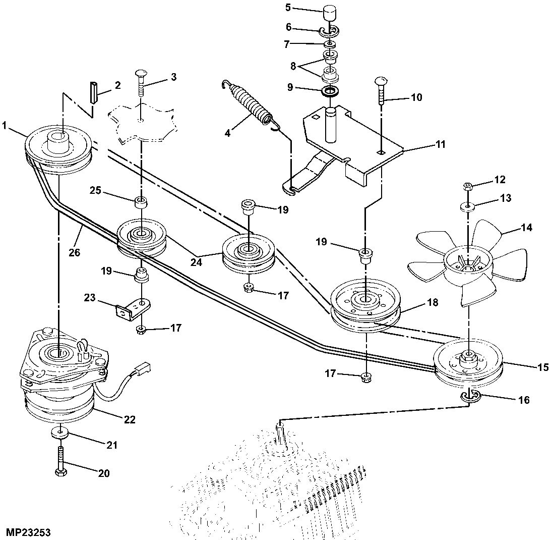 Post furthermore Maxresdefault additionally H A in addition John Deere Z R Mower Deck Parts Diagram likewise Sabrejohn Deere Lawn Tractor Wiring Harness Parts Model. on john deere lt155 parts diagram