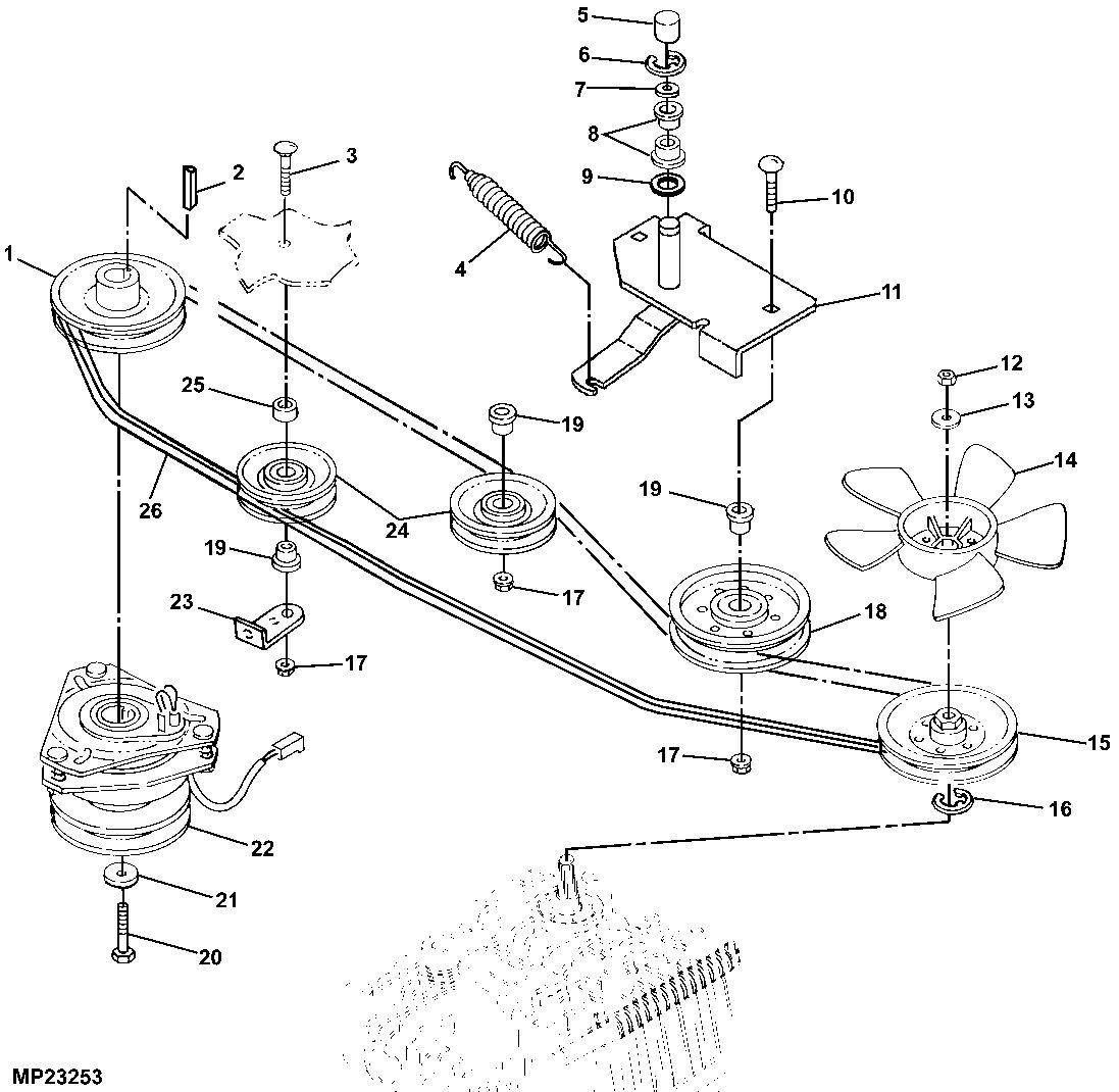 158870870_john-deere-pto-clutch-am126100-gt225-gt235-gt245-gx255- John Deere Mower Pto Clutch Wiring Diagram on john deere l130 clutch diagram, john deere lawn tractor engine diagram, riding lawn mower pto clutch wiring diagram, cub cadet pto clutch wiring diagram, john deere mower deck schematic,
