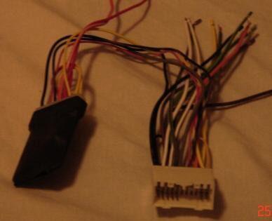 2006 Dodge RAM Radio Dash Kit Harness Ant