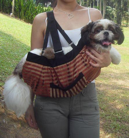 Regin Pet Sling /Dog,Cat Carrier /Pouch,Purse,Bag /RP2 Promotion~