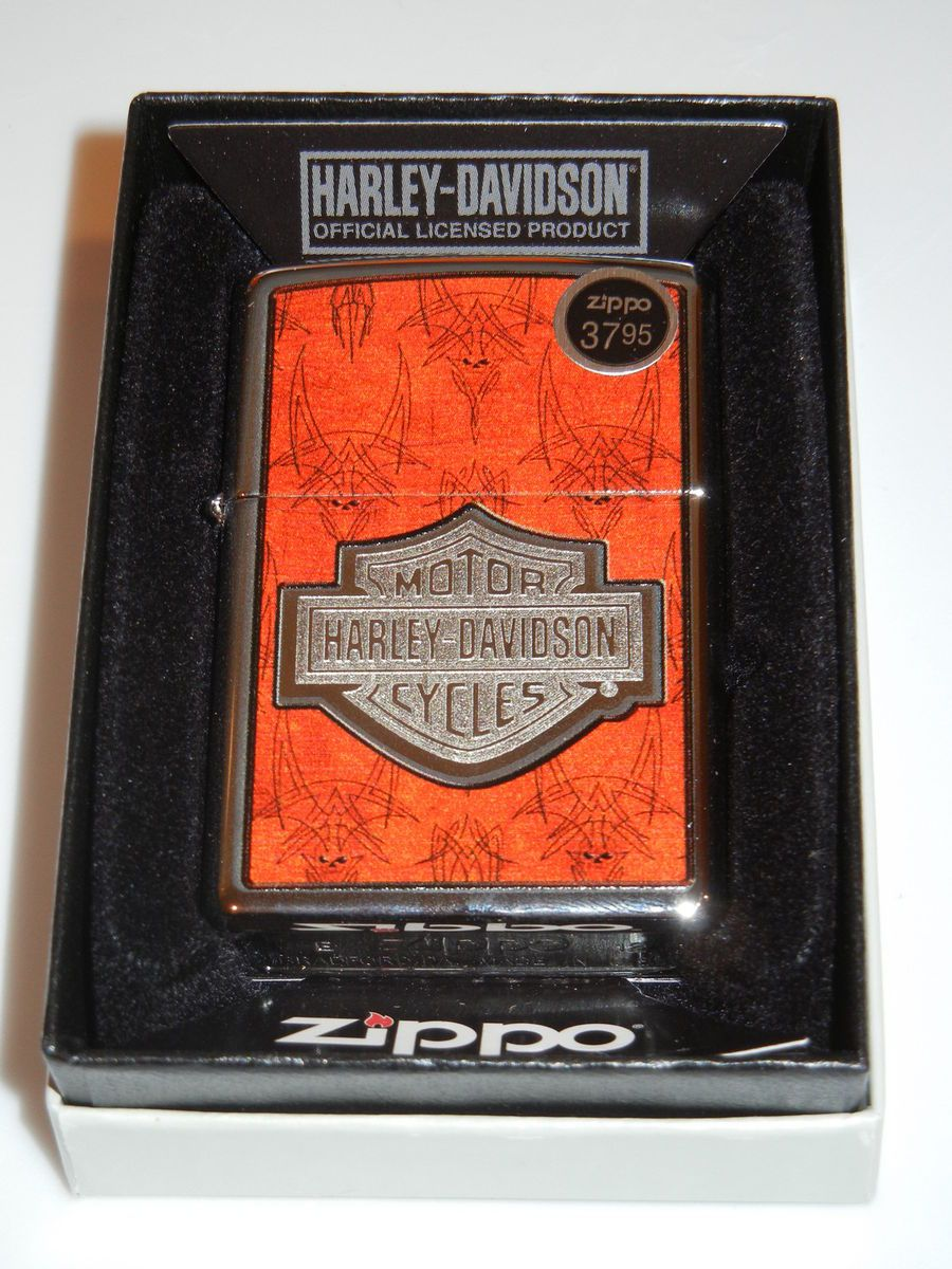 Brand New Zippo Lighter in Box / Model 28266 / HARLEY DAVIDSON