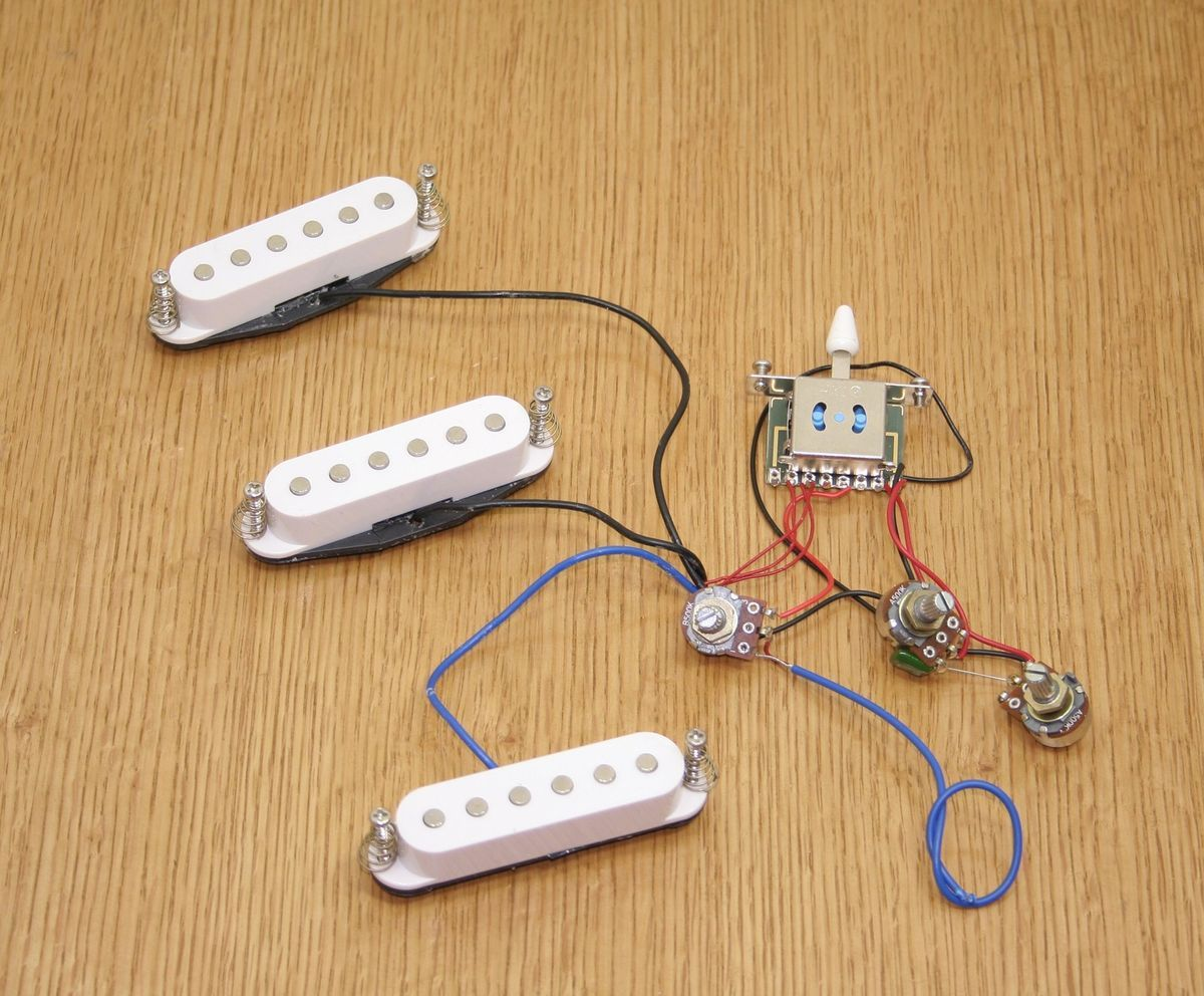 Fender Squier Starcaster Guitar Wiring Harness