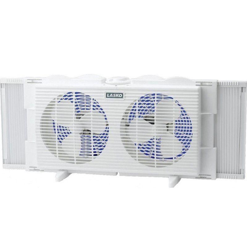 Window Fan Dual Speed Portable AC Air Cooler Lasko Conditioner