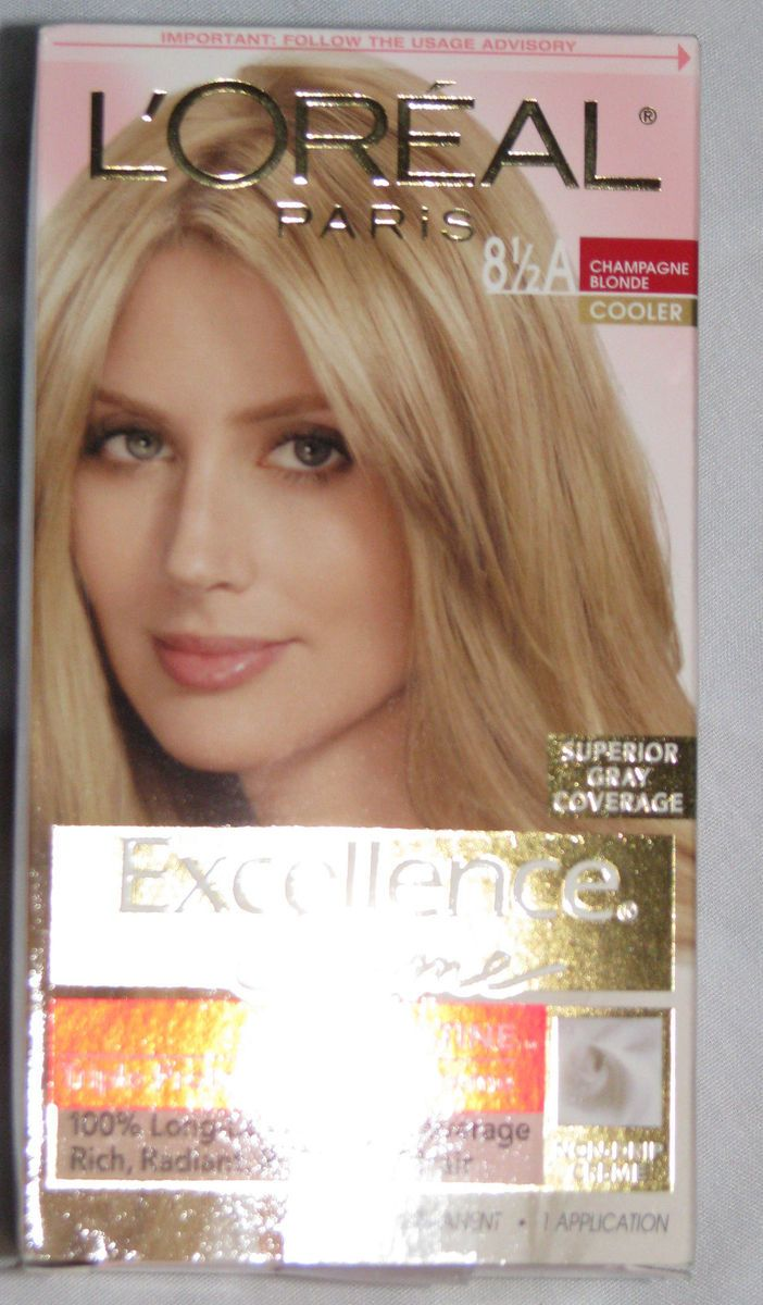 Loreal Excellence Creme Hair Color Dye 8 1 2a Champagne