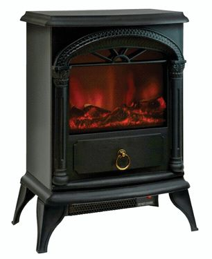 Free Standing Ceramic Portable Electric Fireplace Stove Space Heater