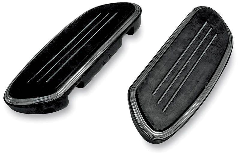 StreamLiner Black Passenger Floor Boards Harley Davidson Touring FLST