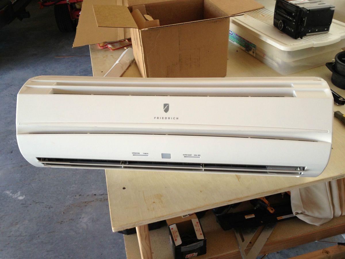 Friedrich MW09Y3FM Ductless Mini Split Wall Unit, Inverter Heat Pump