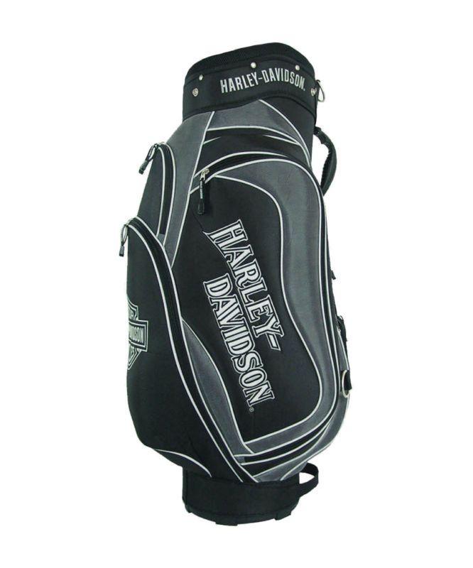 Licensed Harley Davidson Golf Cart Bag Silver Black