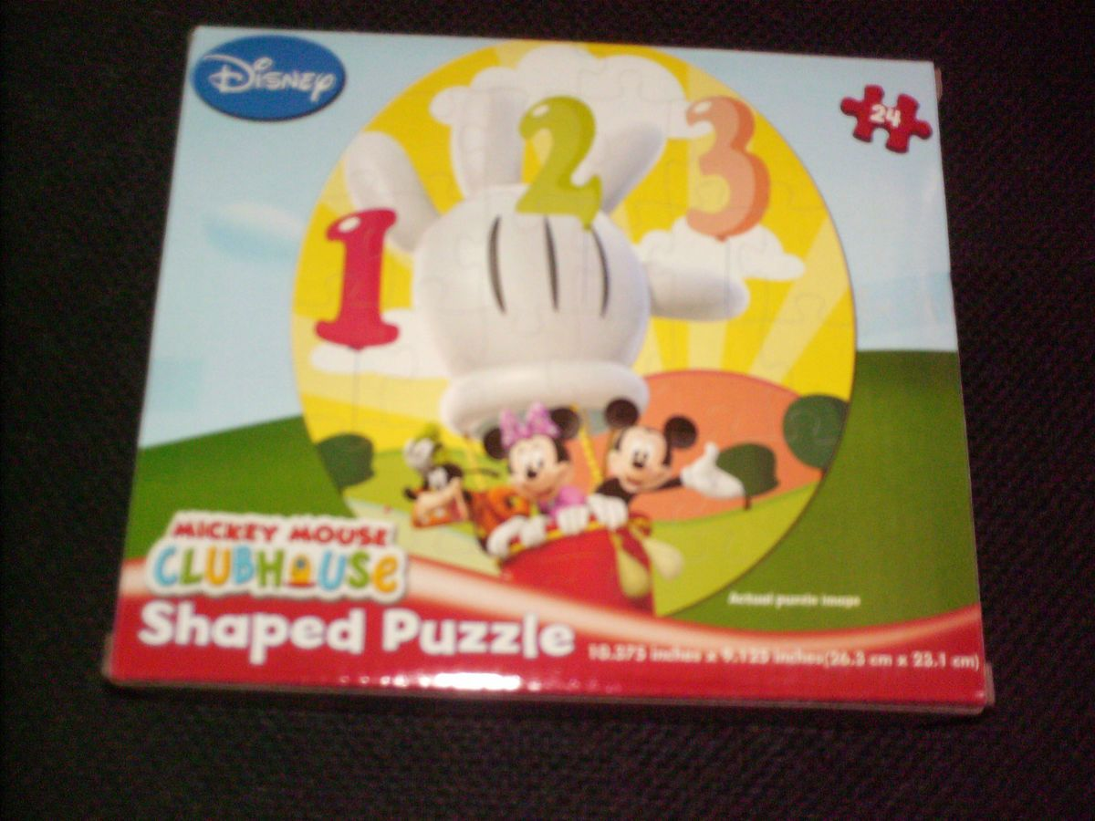 DISNEY MICKEY MOUSE CLUBHOUSE MICKEY GOOFY MINNIE MOUSE Puzzle NEW
