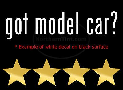 got model car vinyl wall art truck car decal sticker