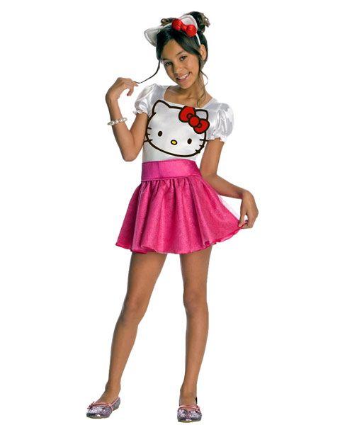 Hello Kitty Tutu Dress Costume for Girls