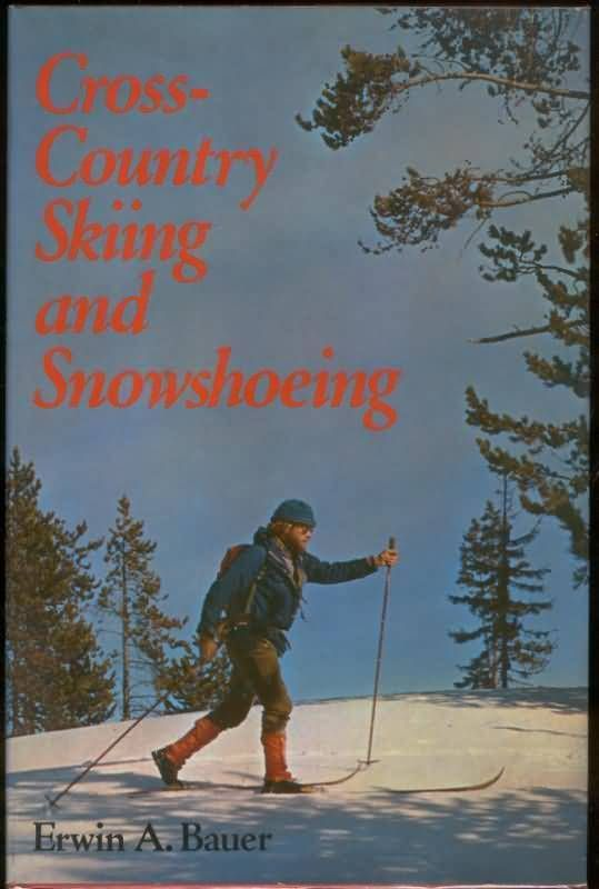1976 Cross Country Skiing and Snowshoeing HC DJ