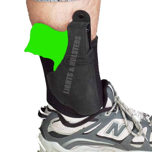 GALCO AL300 ANKLE LITE ANKLE HOLSTER, RUGER LCR, S&W
