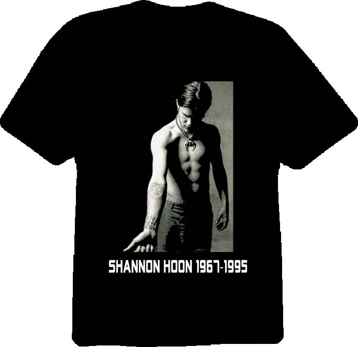 Shannon Hoon Blind Melon Rock Group Musician T Shirt