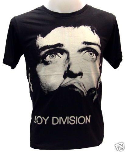Joy Division Ian Curtis Punk Rock Legend Vtg T Shirt M