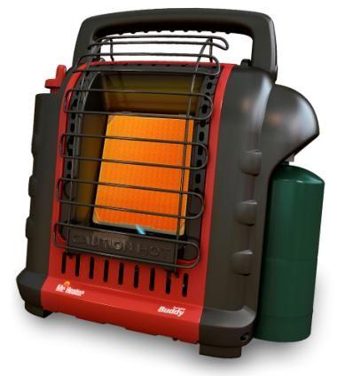 Mr Heater 9 000 BTU Portable Indoor Safe Propane Heater MH9B