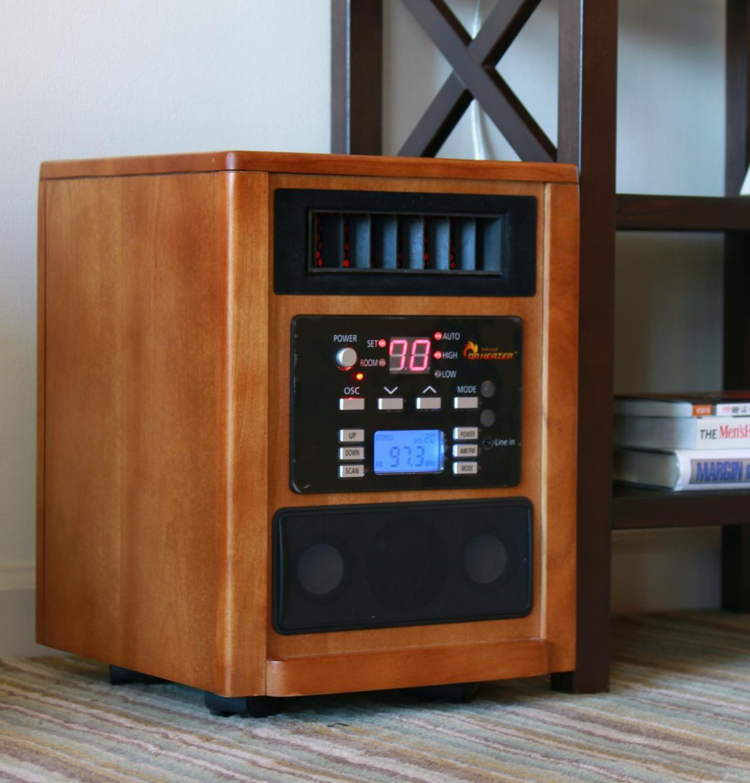 Dr Infrared Oscillation portable Space Quartz Heater w/ High End