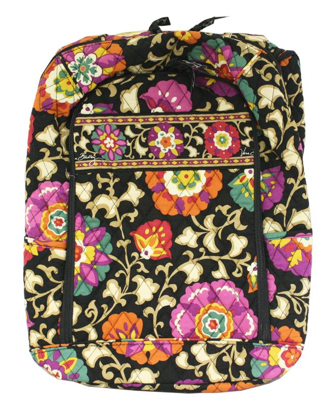 71df8a5098 Vera Bradley Suzani Large Laptop Backpack Bookbag Tote Purse New