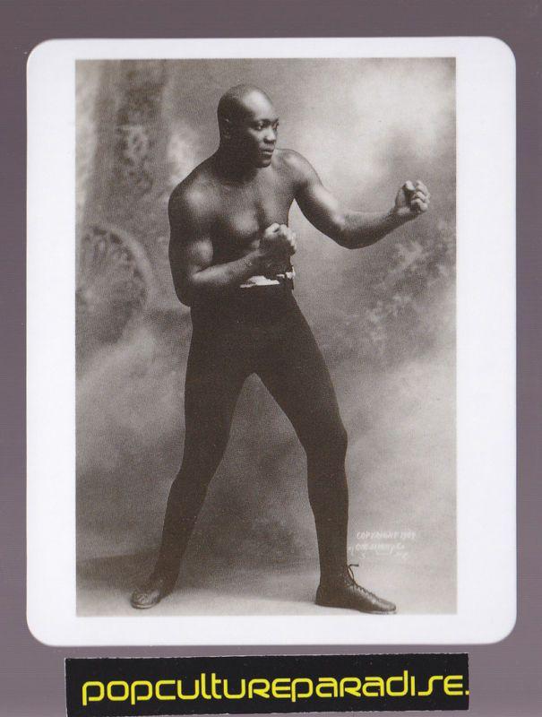 Jack Johnson Boxing Legend RARE Trading Photo Card