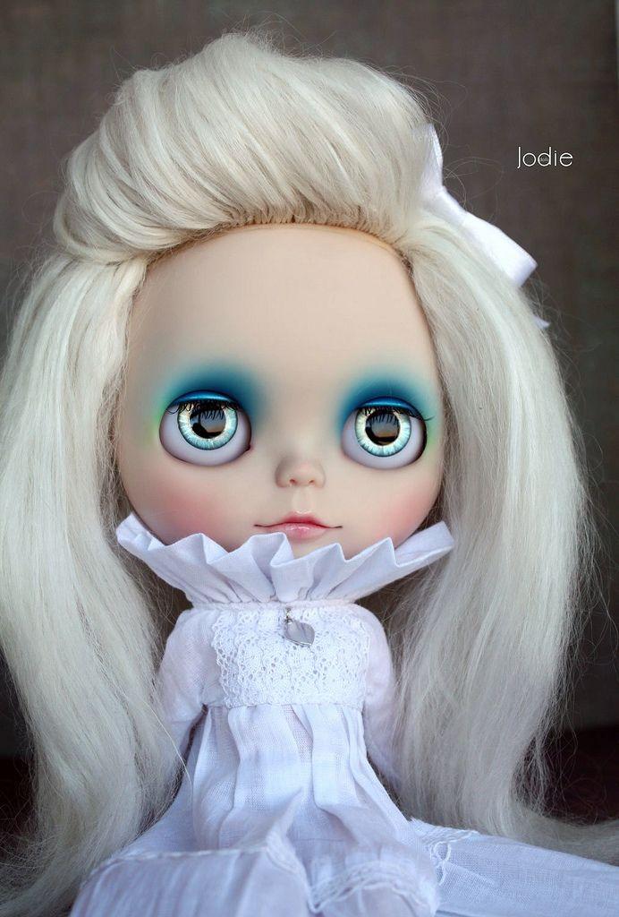 Blue Custom OOAK Blythe Doll by Jodie♥dolls