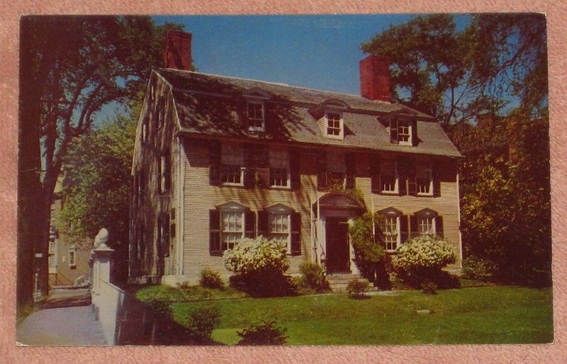 John Paul Jones House Portsmouth New Hampshire