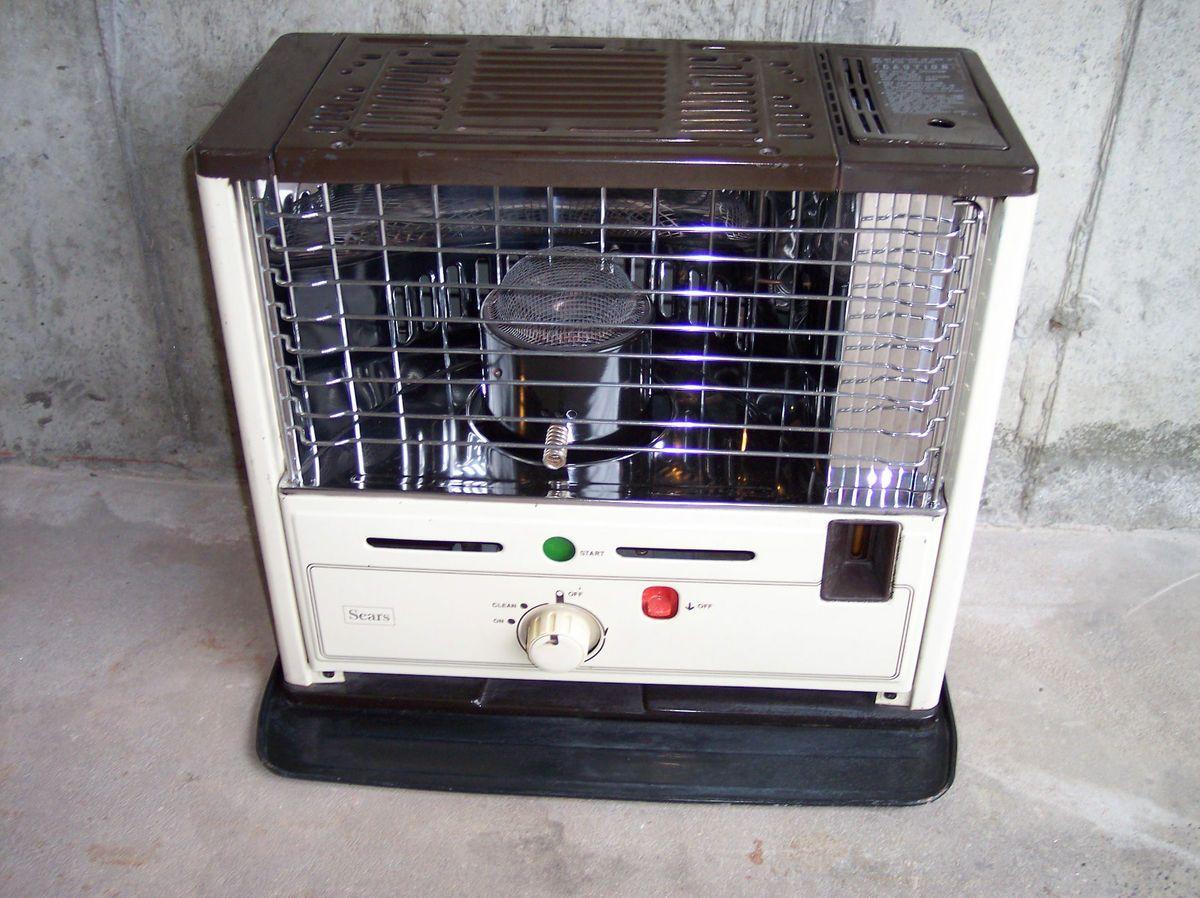 Roebuck Kerosene Heater 9 300 BTU Removeable Tank 583 402120 New