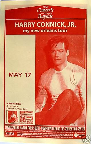 Harry Connick Jr 2009 Concert Tour Poster Big Band