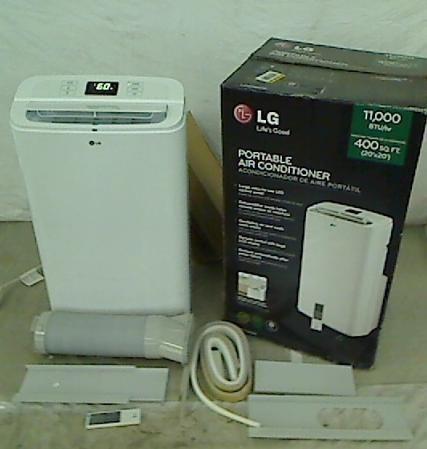 LG Electronics 11 000 BTU Portable Air Conditioner Dehumidifier Remote