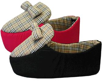 Burberry London Plaid Pet Dog Cat Slipper Bed New Old Stock