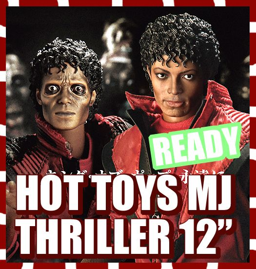 HOT TOYS M ICON MICHAEL JACKSON MJ THRILLER WERECAT 1 6 MISB NEW READY