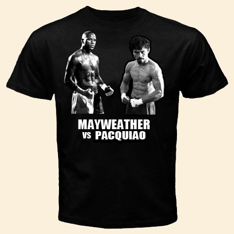 Floyd MAYWEATHER Manny Pacquiao T Shirt MAYWEATHER vs Pacquiao