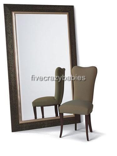 Extra Large Wall Mirror Oversize Dark Wood XL Mahogany Full Length