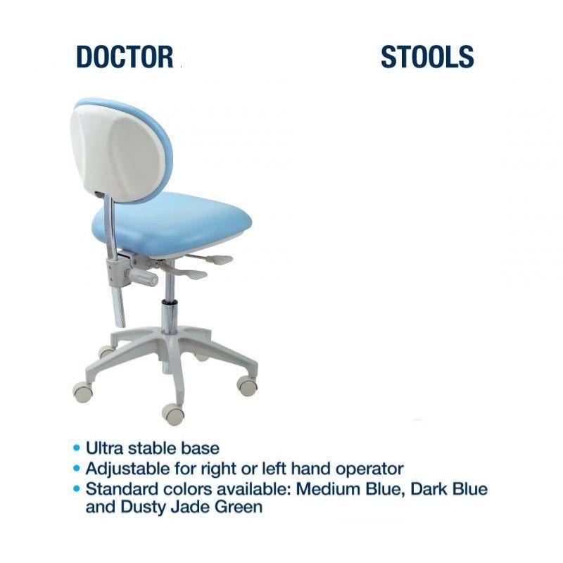 Premium Dental Series Dentists Stool Dental Medical Equipment