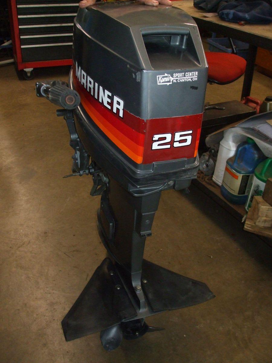 Mercury mariner 25hp outboard boat motor for Mercury marine motors price