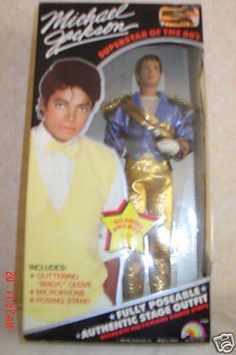 Michael Jackson Doll Grammy Awards Complete LJN