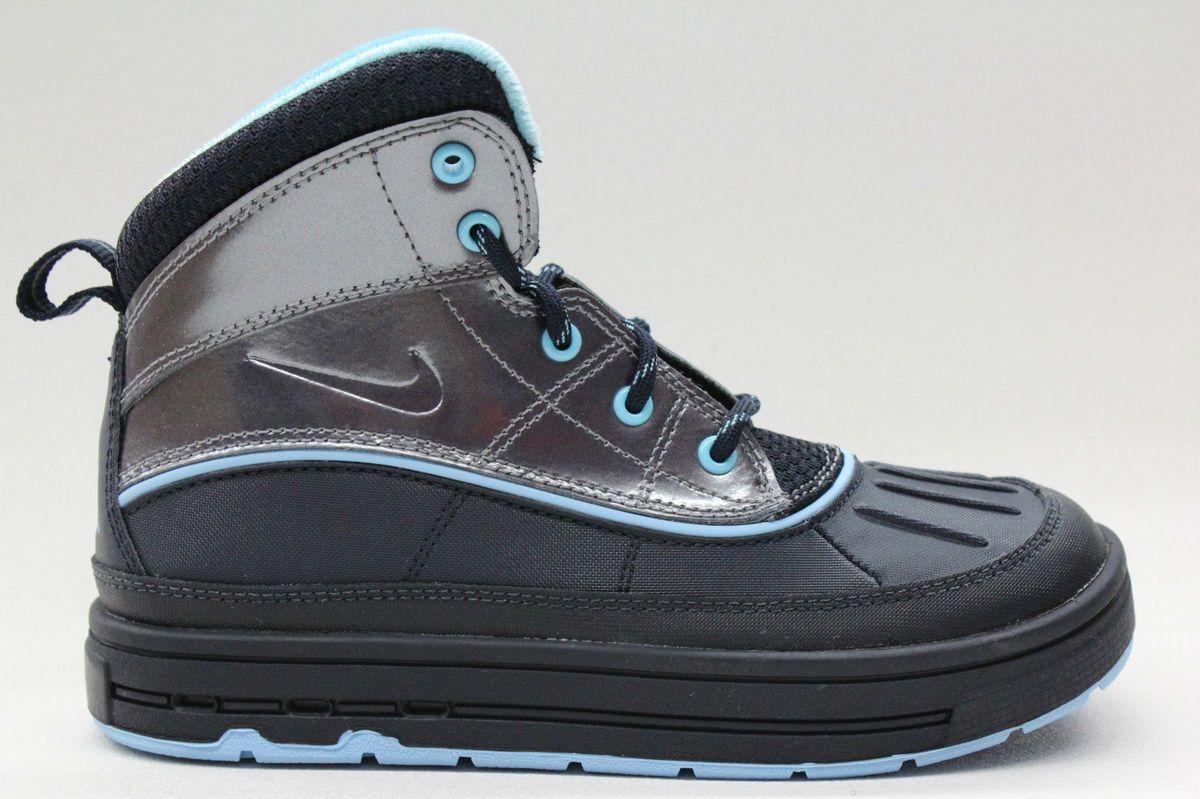 Nike Woodside ACG Dark Obsidian Metallic Grey Blue Chill Pre School PS
