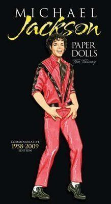 Michael Jackson Paper Dolls  Commemorative Edition 1958 2009 by Tom