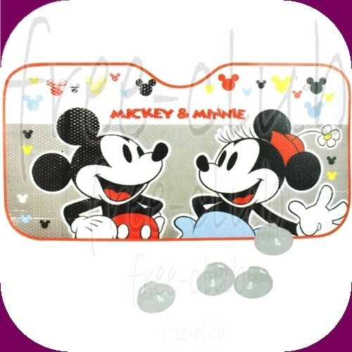 Disney Mickey Minnie Mouse Foldable Car Windshield Window Sun Shade