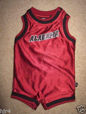 Alabama Crimson Tide NCAA Baby Jersey Infant Jumper 3M