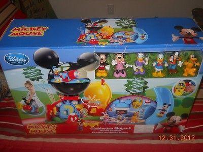 NIB Disneys Mickey Mouse Clubhouse Playset
