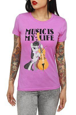 NWT MY LITTLE PONY OCTAVIA MUSIC T SHIRT TEE