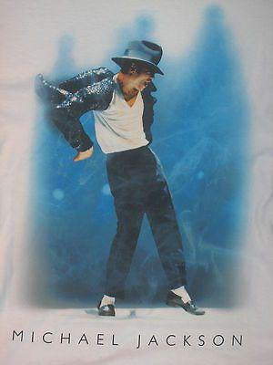 MICHAEL JACKSON POP MUSIC album tour hat glove MENS White NEW T Shirt