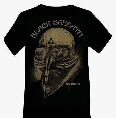 BLACK SABBATH Death Mask Avengers Tony Starks metal rock T Shirt L XL