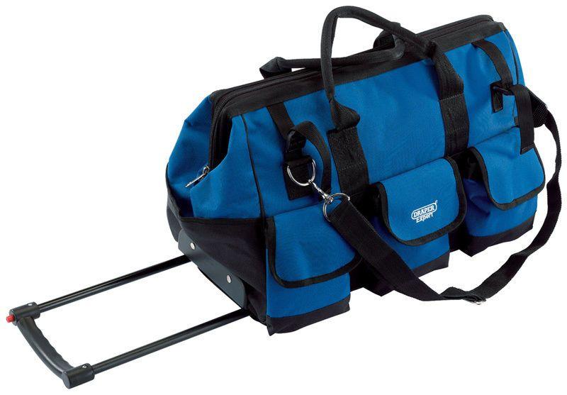 Draper EXPERT 40754 58L MOBILE TOOL BAG WITH WHEELS 550 x 300 x 350MM